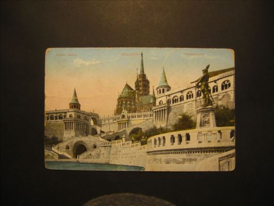 Budapest. Halasz Bastya .