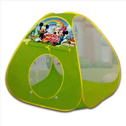 Mickey mouse šator kućica na rasklapanje