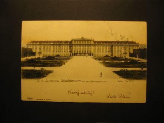 Schonbrunn . Wien XIII / I , litografija