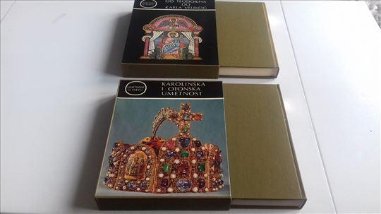 2 knjige, Umetnost u SVETu, NEkorisceno! u kutiji!