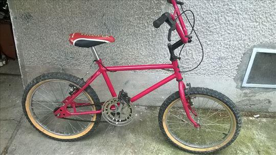 Bicikl BMX deciji 20 cola,pr.i zad.kocnice,sediste