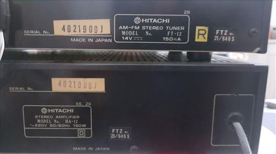 Prodajem Hitachi tuner+pojačalo+Yamaha zvučnike