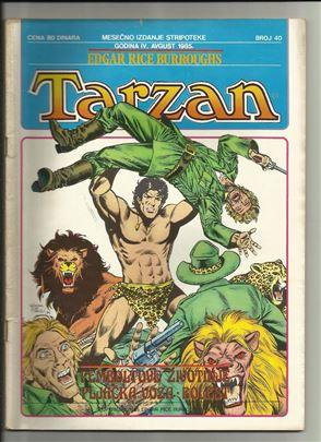 Tarzan Stripoteka 40 Pemboltove životinje - Pljačk