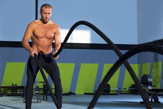 Konopci za vežbanje Battle Rope 9m