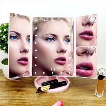 Led ogledalo za šminkanje sa 22 led dioda na Touch