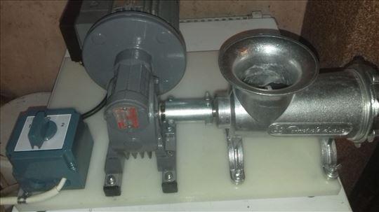 Masina za mlevenje mesa sa motorom i reduktoro