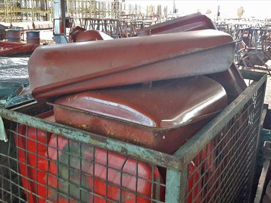 Metalni rezervoar za traktor