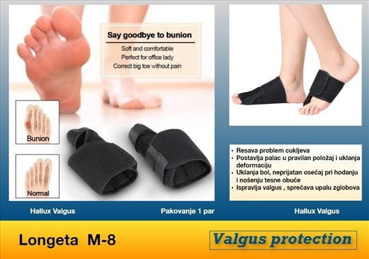Valgus pro korektor - longeta M 8