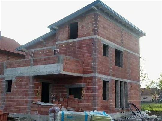Zidanje objekata - grubi i završni radovi