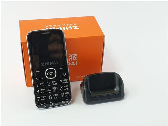 Mobilni telefon - Zhipai - crni, nov