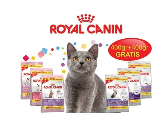 AKCIJA Hrana za mačiće Royal canin 400g+400g