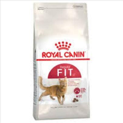 AKCIJA Hrana za mačke Royal canin Fit 400g+85g