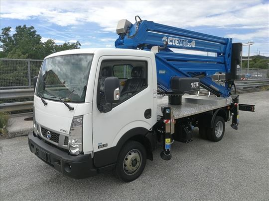 Kamion korpa za visinske radove - najam