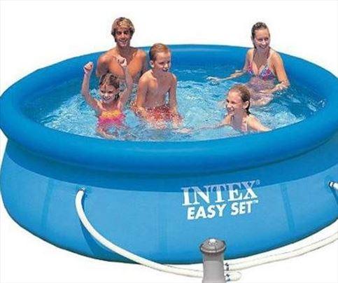 INTEX Easy Set - Bazen sa pumpom - 305 x 76 cm