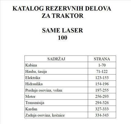 Same Laser 100 - Katalog delova