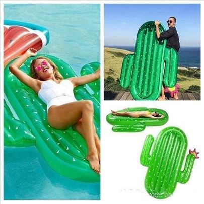 Dusek za plazu u obliku kaktusa