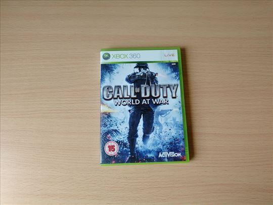 Call of Duty World At War igrica za XBOX 360
