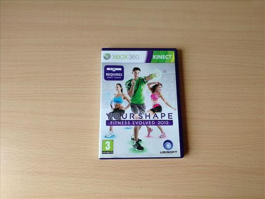 Your Shape Fitness Evolved 2012 igrica za XBOX 360