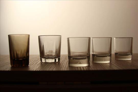 Pet rasparnih čašica od 0,03l