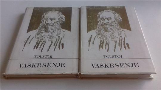 Tolstoj Vaskrsenje 1 -2 1969.god. tvrd povez