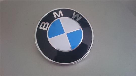 NOV BMW gepek znak precnik 74mm za E46, E90..