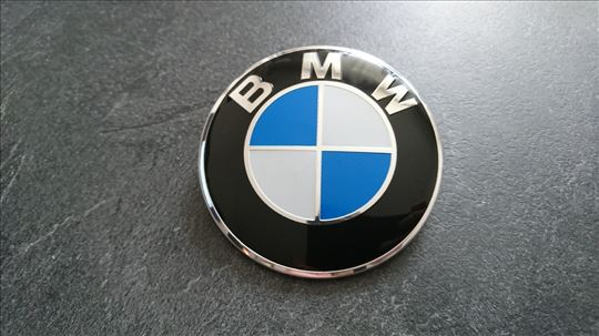 NOV BMW znak Demmel precnik 82mm (hauba ili gepek)