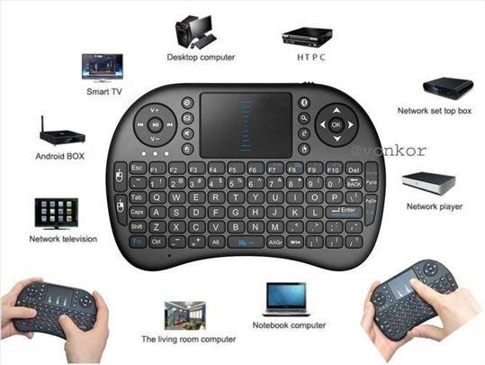 USB wireless mini tastatura touchpad
