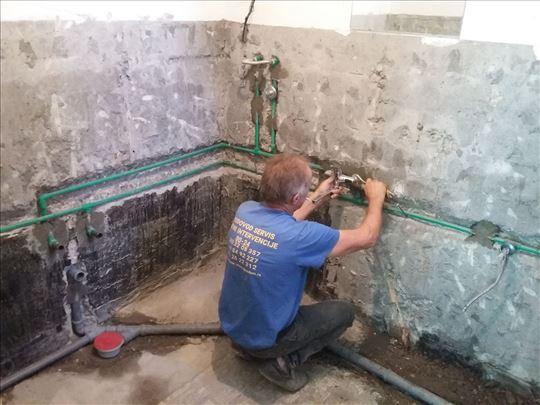 Vodoinstalater u Beogradu! 38 godina iskustva