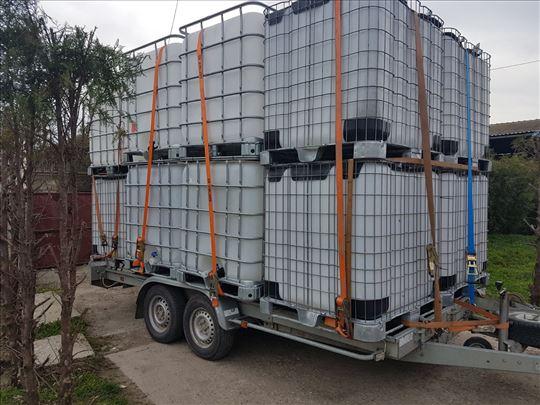 Cisterne Ibc kontejneri Bidoni Tankovi 1000l