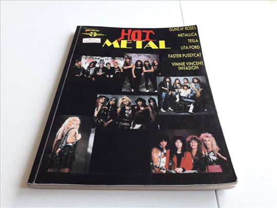 HOT METAL guitar tablature book Authorized Edition