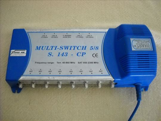 Multi-switch 5-8 s.143-CP !