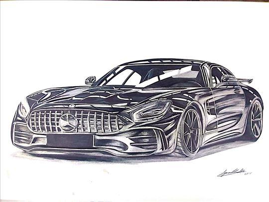 Crteži automobila po narudžbini