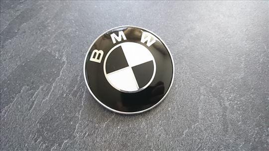 NOV CRNI BMW znak precnik 74mm