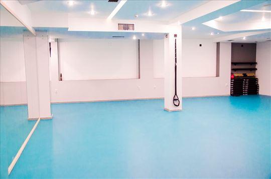 Izdavanje sale za vežbanje i rekreaciju