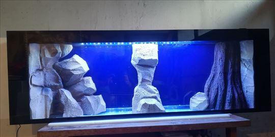 Plazma akvarijum 1.5m - akvarijum za zid