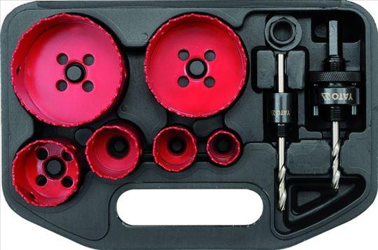 Set kruna za bušenje HSS-bimetal 22-73 mm