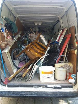 Čišćenje podruma, garaža i ostava