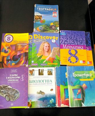 Prodajem knjige za 8. razred