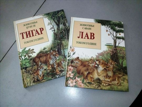 Prelepe slikovnice o lavovima i tigrovima