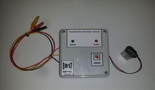 LED tester tranzistora i dioda