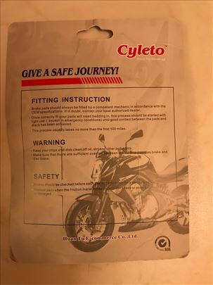 Plocice CYLETO prednje kocnice moto Yamaha