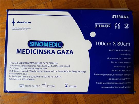 Prodajem potrošni medicinski materijal