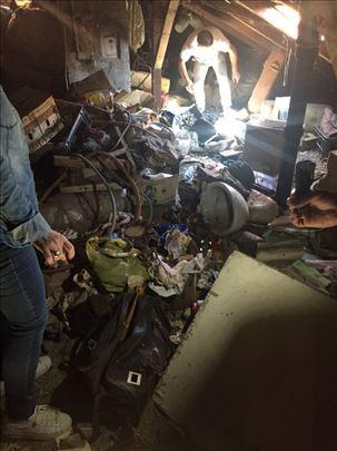 Čistimo garaže, podrume i stanove
