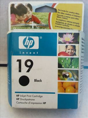 HP original inks. 19 black. CENA 499 dinara