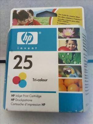 HP original inks. 25 tri-colour. CENA : 499 dinara