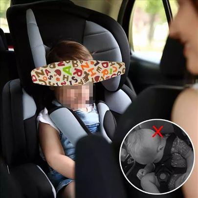 Držač glave za dečije auto sedište-traka za glavu