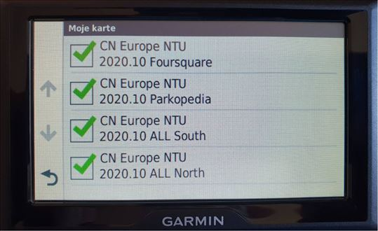 Garmin mape za Navigacije 2021.10 mapa gps auto ka