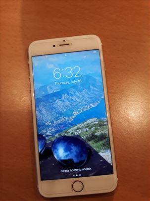 iPhone 6S plus, 64 GB bele boje. Odlicno ocuvan