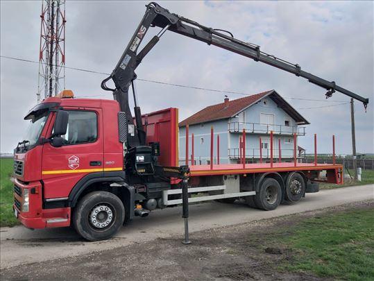 Kamion sa kranom - iznajmljivanje