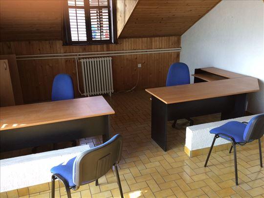Kancelarijski stolovi i stolice -  Komplet